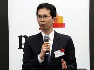 東京電力ベンチャーズ事業開発部ドローンハイウェイチームの斎藤亮平プロジェクトマネージャー