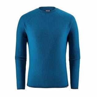 「メンズ・キャプリーン・エア・クルー」(税込み1万7280円) 。重さは184グラムと非常に軽い。ブルー、ブラック、グリーン、レッドの4色