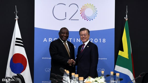 ソウル訪問「正恩氏の決断次第」 韓国大統領