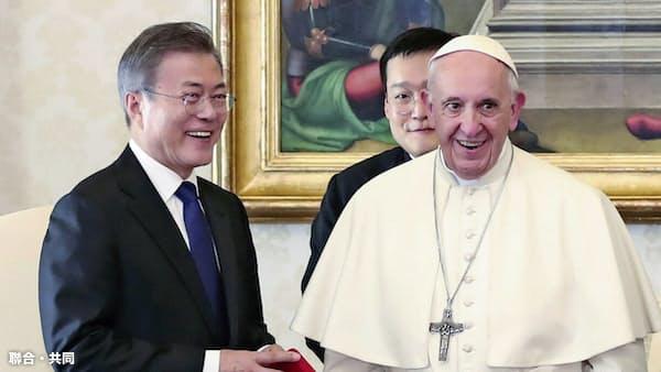 金正恩氏の来週訪韓を再打診 韓国