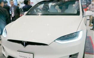 最大100kWhの電池を搭載するテスラ「モデルX」