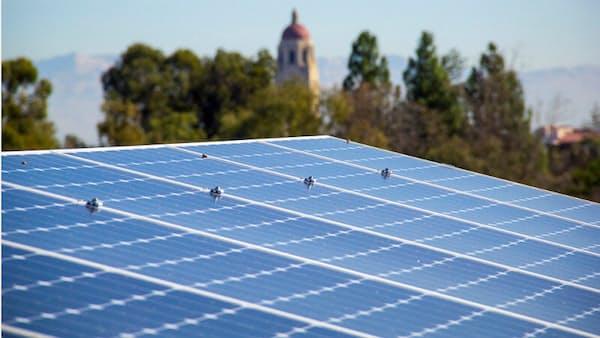 米スタンフォード大、2021年に全電力を再エネに