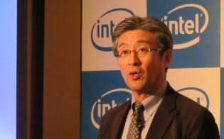 インテル日本法人の鈴木国正社長