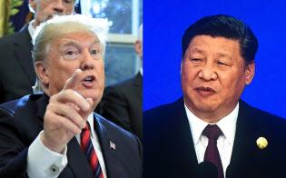 アルゼンチンでのトランプ米大統領(左)との首脳会談で習近平国家主席(右)は自ら30分余りにわたって「対米譲歩案」を説明したが…(写真左はAP)