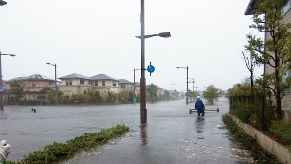 高級臨海住宅街で牙むく浸水リスク 潮芦屋の想定外