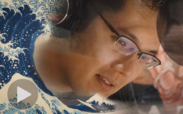 講談界の若き星・神田松之丞さん、巨匠・北斎に挑む