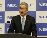 NECの山品正勝執行役員常務