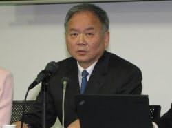 日本通信の三田聖二社長