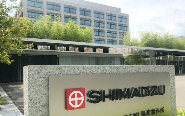 島津製作所は創業1875年。京都企業の中でも一目置かれる存在だ