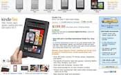 米アマゾン Kindle Fire公式ページ