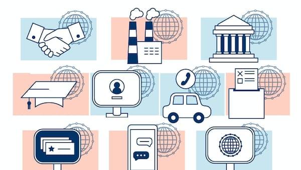広がるブロックチェーン革命、仮想通貨に続く10業種