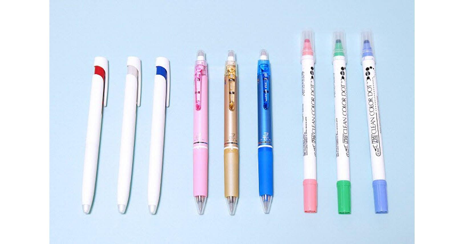 文具女子注目の機能ペン 書き疲れなし・スリムな3色|WOMAN SMART|NIKKEI STYLE