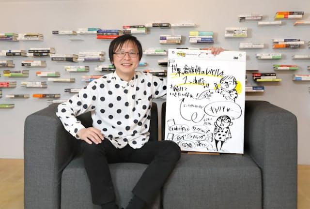 富士通デザインに勤めながら個人でも活動するタムラカイさん