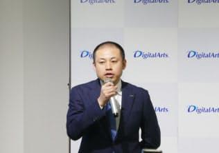 開発部Internetデータラボ課の細谷計介氏