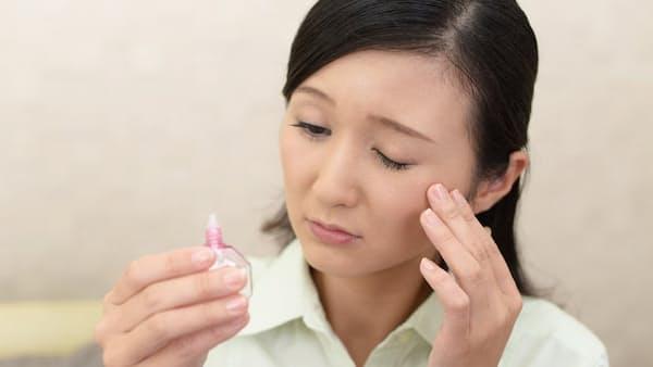 花粉症の目のかゆみ 人工涙液と目薬の二刀流で