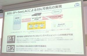 ラックが提供を始めた「SSL可視化ゾーン構築サービス」の概要