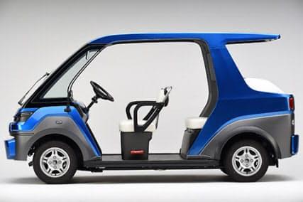 車両区分は軽自動車となる。寸法は全長3370×全幅1340×全高1710ミリメートルで、車両質量は640キログラムである(出所:ヤマハ発動機)