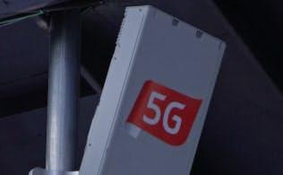 基地局は無線設備の中心(韓国サムスンの基地局製品)