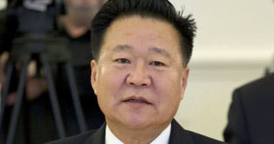 北朝鮮のナンバー2の地位を固めた崔竜海氏=AP