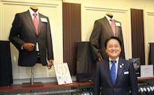 スーツ生涯売り上げ100億円目前の町田豊隆AOKI常務執行役員