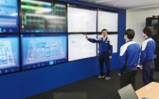 統合司令室(出所:安川電機)