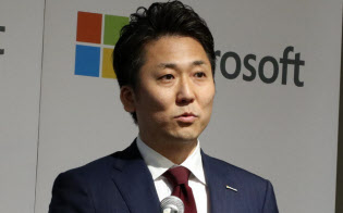 日本マイクロソフトの手島主税最高ワークスタイル変革責任者