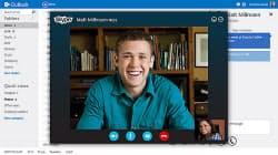 写真2 買収したVoIPサービス「Skype」の統合イメージ