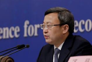 中国商務省の王受文次官=ロイター