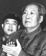 毛沢東主席=朝日新聞社提供