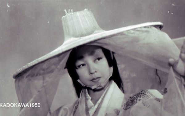 黒澤明監督「羅生門」の京マチ子さん(C)KADOKAWA1950