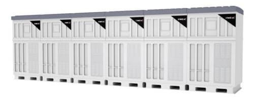 単機容量5.5メガワット(920キロワット×6台構成)のイメージ(出所:東芝三菱電機産業システム)