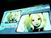 日本のアニメでは笑顔のときは目を閉じて笑うことが約束事だが、グラビティデイズでは目を開けて描いた