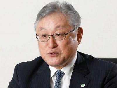 日立の東原敏昭社長(写真:村田 和聡)