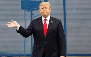 不法移民対策はトランプ大統領にとって再選への最優先課題になっている=AP