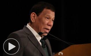 フィリピン大統領、南シナ海「一触即発」 アジアの未来