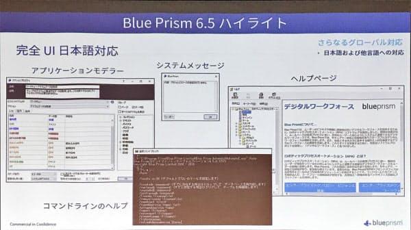 Blue Prism v6.5の概要(出所:ブループリズム日本法人)