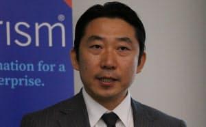 ブループリズム日本法人の長谷太志社長