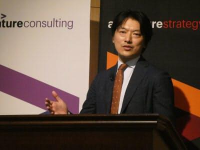 アクセンチュアの村上隆文戦略コンサルティング本部テクノロジー戦略グループ日本統括マネジング・ディレクター