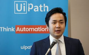 UiPath日本法人の末廣満氏