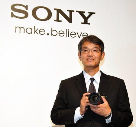 図2 ソニー 業務執行役員SVP デジタルイメージング事業本部 本部長の石塚茂樹氏
