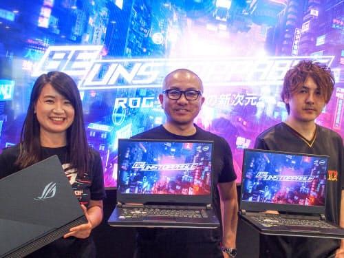 ASUS JAPANがROGシリーズの新製品を発表(写真:山口 健太)