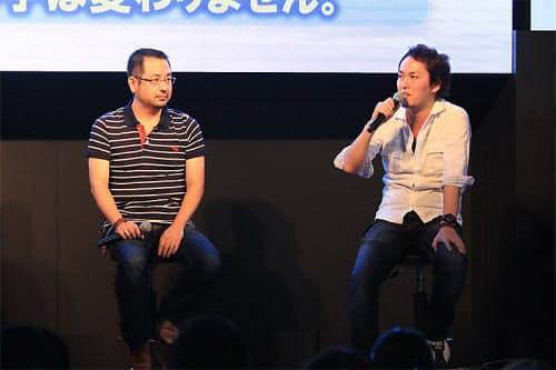TGS期間中、ドラゴンクエストXプロデューサーの齊藤陽介氏、同ディレクターの藤澤仁氏によるスペシャルトークイベントを実施。10月予定の大型アップデートの内容を発表するという