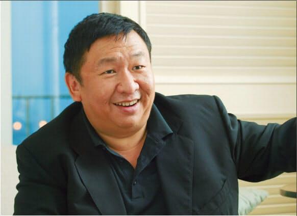 ビジオ創業者の王蔚(William Wang)氏(日経エレクトロニクス 2009年12月14日号、p.116より)