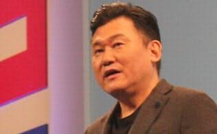 新経済連盟の三木谷浩史代表理事