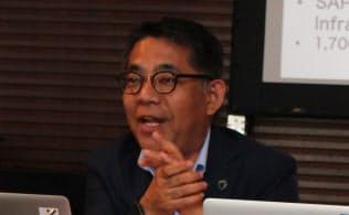 日本IBMの三澤智光取締役専務執行役員