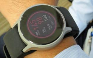 腕時計で血圧を高精度に