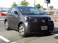 図1 限定発売するトヨタの電気自動車「eQ」