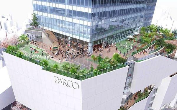 2019年11月開業予定の新生「渋谷パルコ」(画像提供:PARCO)
