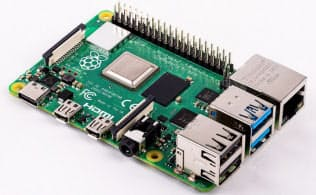 Raspberry Pi 4 Model B(出所:英ラズベリーパイ財団)