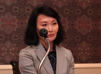 日本IBMの我妻三佳執行役員